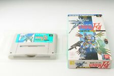 Mobile Suit Gundam F91 Super Famicom SFC SNES Nintendo Japan JP Game #267