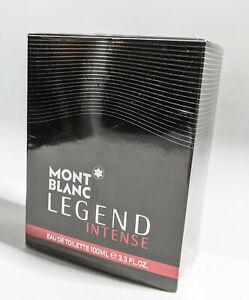 Montblanc Legend Intense Eau de Toilette 100ml / 3.4oz spray Free Shipping!