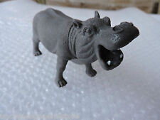 "HIPPO Safari Plastic Animal Pretend Play *Ages 5+ ~ Size 3.25""H x 6""L **"