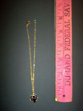 American girl Doll size. kitty gold metal chain . #5