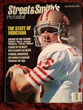 STREET & SMITH's NFL Pro Football Official YEARBOOK 1990 JOE MONTANA