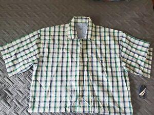 Nautica Sleepwear Shirt. Large. Yellow. Retail $31.00