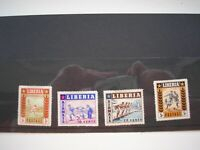 Liberia Airmail stamps