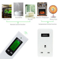Plug In Thermostat Digital Electric Wireless RF Greenhouse Temperature Control