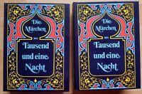 2x Die Märchen aus Tausend und eine Nacht Neudruck Originalausgabe von 1865 Buch