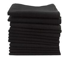 Waschlappen Baby ImseVimse 12 x Black Bio Baumwolltücher Pflege Flanell Einlage