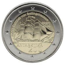ESTONIA - 2 € Euro commemorative coin 2020 - 200 years Discovery Antarctica UNC