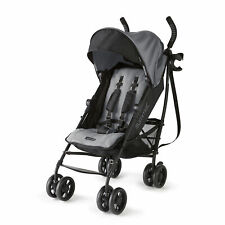 Summer Infant 3DlitePlus Convenience One-Hand Adjustable Stroller Matte Gray