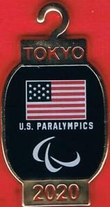 Unique 2020 Tokyo Paralympic Games USA Olympic Team NOC Pin