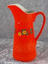 SMF Schramberg Tirol Keramik großer Krug Karaffe Nr 5711 70er Jahre