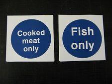 2x Food Prep Stickers