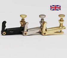 More details for violin string fine tune adjuster gold, silver or black (multi-listing) tuner