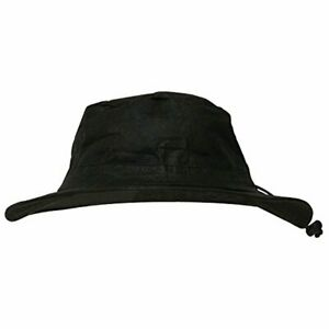 Frogg Toggs Waterproof Breathable Bucket Hat 100% Polypropylene Black