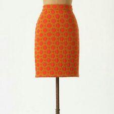 Anthropologie Charlie & Robin Tile Quilted Skirt AU Size 8