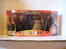 NEW RARE - Dr Who David Tennant 10th Doctor Collectors Set - Daleks in Manhattan
