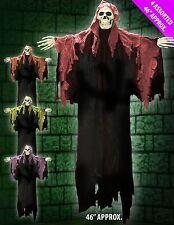 Hanging 116cm Skeleton Ghoul Halloween Horror Fancy Dress Party Decoration Prop
