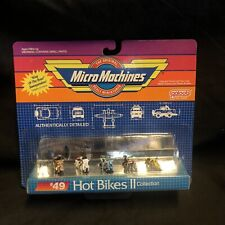 Micro Machines Hot Bikes Ii Collection #49 Galoob 1989 Motorcycles