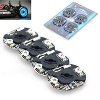 4pcs GT Power Dynamic Wheel Rim LED Light Lamp for 1/10 RC Drift Car Brake Disc