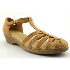 Sandalias con tiras de mujer Beige Talla 41