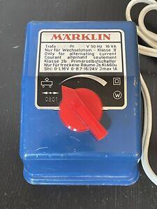 Marklin HO Transformer 6502 Solid Piece Made in Western Germany
