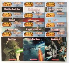 Star Wars Phonics Childrens Books Pack 2 Learn to Read Beginning Readers Lot NEW