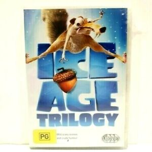 Ice Age Trilogy - Ice Age 1 / Ice Age 2 - The Meltdown / Ice Age 3  - Brand New