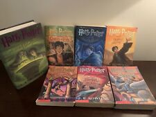 Complete HARRY POTTER Mixed Book Set  #1 - 7 JK Rowling 1st ed HCDJ Series Lot