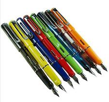 1 Lot/8PCS Jinhao 599 Fountain Pens Diversity Set Transparent and Unique Style