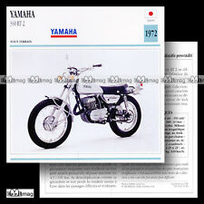 #070.15 YAMAHA 360 RT 2 1972 (RT2) Fiche Moto Motorcycle Card