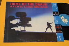 LP COLONNA SONORA ORIGINALE DEL FILM HOME OF THE BRAVE 1°ST ORIG 1986 EX