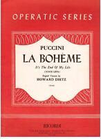 Puccini: It's The End Of My Life ( Donde Glücklich) Von La Bhoeme - Erinnerungen