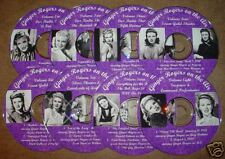 GINGER ROGERS on the air Vintage Radio Shows OTR-CDs