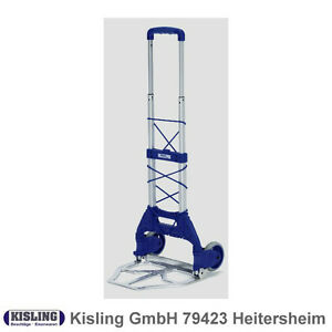 FETRA Paketroller, Foldable, 50 KG #1730 Sack Truck New