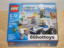 LEGO CITY 7279 Police Minifigure Collection NEW