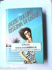 RISERVA DI CACCIA ROMANZO JACKIE COLLINS CDE HOLLYWOOD