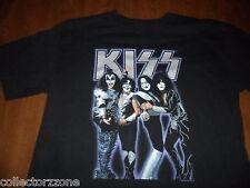 USED - 2005 - KISS - BLACK T-SHIRT - MEDIUM