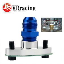 1/2 NPT Oil Drain Turbo Flange T3 T4 T04 GT40 GT55 +NPT 1/2 TO10AN Flare Fitting