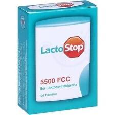 LACTOSTOP 5.500 FCC Tabletten Klickspender 120 St