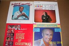Lot of 4 Vintage Pre-Owned Vinyl Lp Albums featuring  Harry Mancini