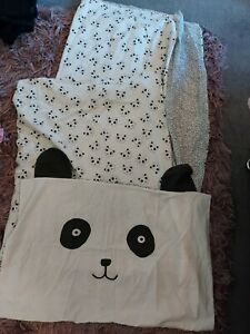 next single panda bedding
