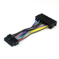 10X Power Supply Cable Cord 18AWG Wire ATX 24 pin to 14 pin Adapter Cable for PC