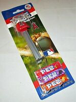 MLB LOS ANGELES ANGELS OF ANAHEIM Pez Dispenser  BASEBALL CAP   [Carded]