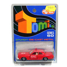 TOMICA DODGE CORONET FIRE CHIEF MADE IN JAPAN Series 60 VINTAGE COLES AUSTRALIA