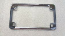 HARLEY DAVIDSON CHROME LICENSE PLATE FRAME