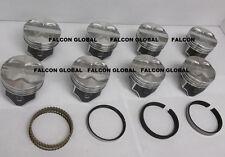 Sealed Power Chrysler/Dodge 360 Hypereutectic Flat Pistons+Cast Rings 9:1 stand.
