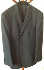 Donna Karan New York DKNY Men's Suit 3 Buttons Dark Grey 38S & Trousers 30