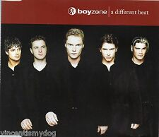 BOYZONE - A DIFFERENT BEAT (3 track CD single)