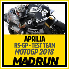 Kit Adesivi Aprilia RS-GP MotoGP 2018 Test Team - High Quality Decals