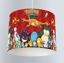 Pokemon (113) Boys Bedroom Drum Lampshade Light Shade