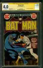 Batman 243 CGC SS 4.0 1st Ubu Neal Adams Cover 8/1972 Ra's Al Ghul